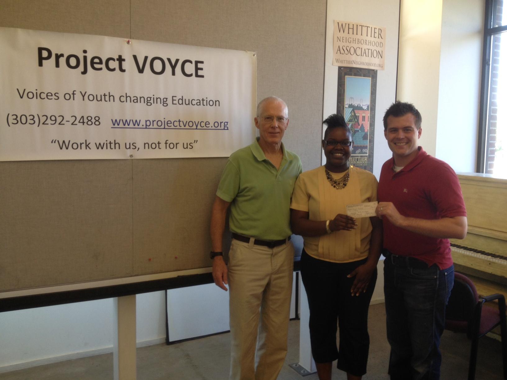 Kyle Malnati – Project Voyce (Denver Charity) Donation for Billy Malnati 5.4.2012