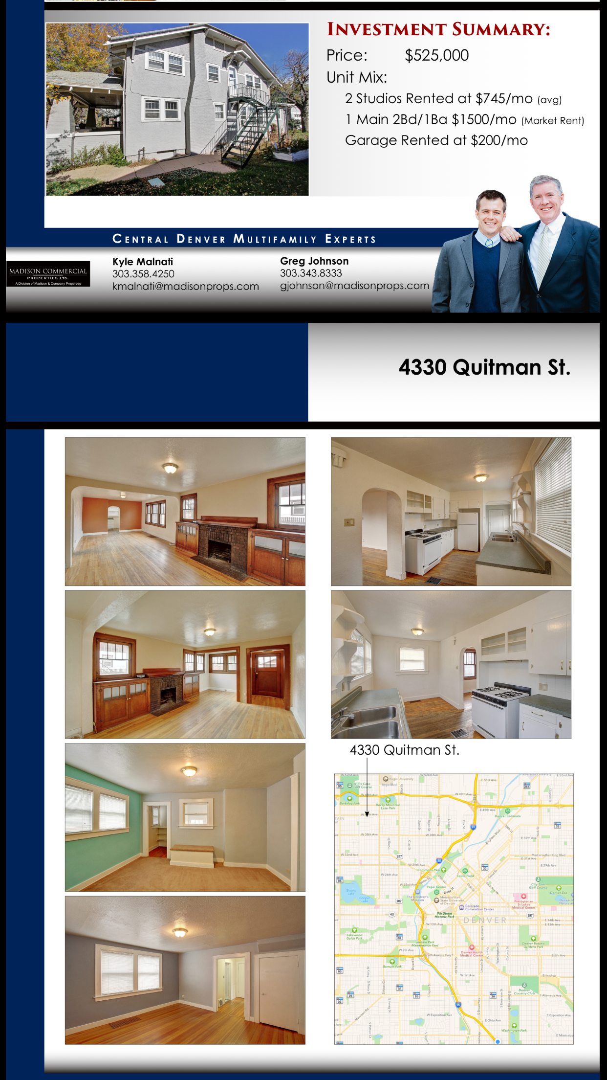 4330 quitman denver triplex sale berkeley denver apartment about madison commercial properties is a denver based commercial real estate firm specializing in apartment brokerage and investment sales in central solutioingenieria Images
