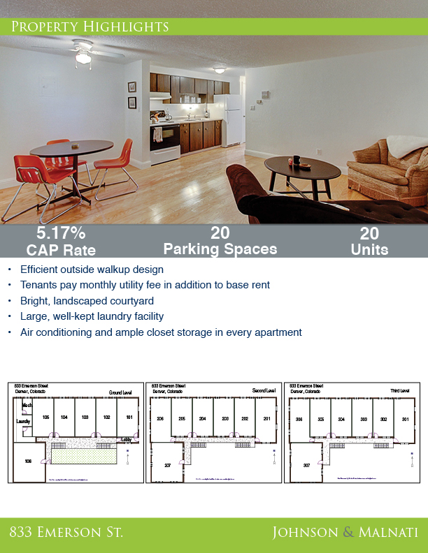 833 Emerson St. - Brochure 3